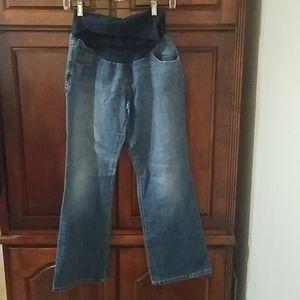 NWOT Indigo Blue size PM maternity jeans